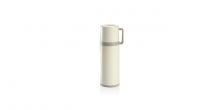 Thermosflasche mit Tasse CONSTANT CREAM 0,3 l, aus Edelstahl