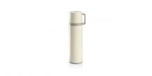 Thermosflasche mit Tasse CONSTANT CREAM 0,5 l, aus Edelstahl