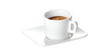 Šálka na espresso GUSTITO, s tanierikom