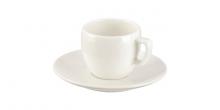 Šálka na espresso CREMA, s tanierikom