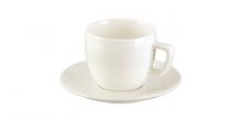 Šálka na cappuccino CREMA, s tanierikom