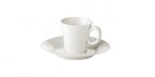 Espresso-Tasse ALLEGRO, mit Untertasse