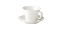 Filiżanka do herbaty ALLEGRO, z talerzykiem