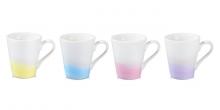 Taza Mug myCOFFEE, 4 pzs, Pastels
