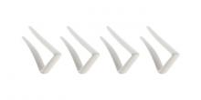 Spona na ubrus plastová PRESTO, 4 ks