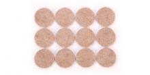 Samolepiace podložky pod nábytok PRESTO ø 30 mm, 24 ks