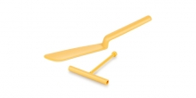 Espátula para crepes com utensílio DELÍCIA