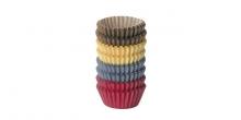 Cukrárske mini košíčky DELÍCIA, ø 4,0 cm, 200 ks, farebné