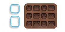 Formičky na čokoládu DELÍCIA KIDS, autíčka