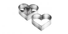 Corta massas coração DELÍCIA, 5,0 x 4,5 cm