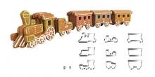 Pociąg z piernika DELÍCIA, komplet wykrawaczy