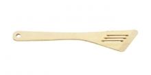 Espátula oblíqua perfurada WOODY, 30 cm