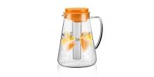 Glaskrug TEO 2.5 l, mit Teesieb und Kühleinsatz