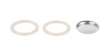 Silikónové tesnenie 2 ks a filter PALOMA, 3 šálky