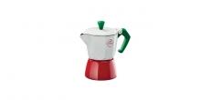 Espressokocher PALOMA Tricolore, 1 Tasse