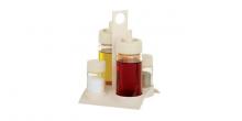 Komplet solniczka, pieprzniczka, olej, ocet SOLO