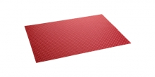 Base Individual FLAIR SHINE 45x32 cm, vermelho