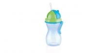 Kindertrinkflasche mit Trinkhalm BAMBINI 300 ml