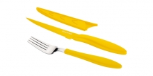 Antyadhezyjny nóż do steków i widelec PRESTO TONE