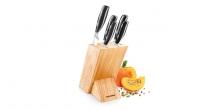 Messerblock GrandCHEF, mit 5 Messern