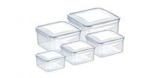 Caixa quadrada FRESHBOX 5 pcs