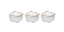 Mini-Dose FRESHBOX, 3 St., quadratisch