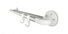Barra dupla OCTOPUS 35 cm, 2 ganchos
