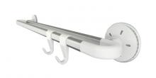 Barra dupla OCTOPUS 45 cm, 2 ganchos