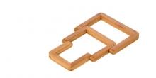 Podložka rozkladacia ONLINE, drevená