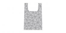 Nákupná taška skladacia SHOP!, dizajn 3