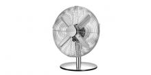 Stolný ventilátor FANCY HOME ø 30 cm, chróm