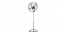 Ventilador de pie FANCY HOME ø 40 cm, cromo