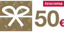 Darčekový poukaz 50 Eur-elektronický