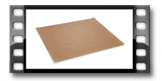 Ochranná podložka do rúry PRESTO 45 x 38 cm