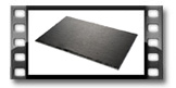 Plato de pizarra GrandCHEF 35 x 25 cm