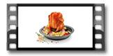 Pekáč na kuře s přílohou DELÍCIA ø 33 cm