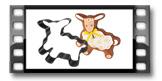 Forma/Corta massas ovelha de Páscoa DELÍCIA
