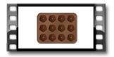 Formičky na čokoládu DELÍCIA CHOCO, květinky