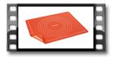 Tapete de silicone com clip DELÍCIA SiliconPRIME 50x40 cm