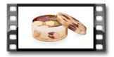 Dóza na sušienky DELÍCIA ø 20 cm