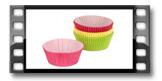Košíčky na sušenky DELÍCIA ø 8.0 cm, 60 ks