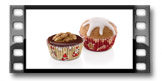 Cukrářské mini košíčky DELÍCIA ø 4 cm, 100 ks, vánoční