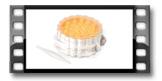 Forma para pastéis recheados DELÍCIA, 3 decorações