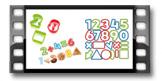 Ausstechformen Zahlen DELÍCIA KIDS, 21 St.
