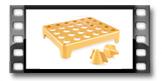 Ständer für die Bienenkörbchen DELÍCIA