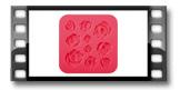 Silikonové formičky DELÍCIA DECO, růžičky