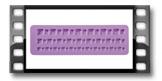 Foremki silikonowe DELÍCIA DECO, bordiura z klejnotami