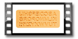 Silikonové formičky DELÍCIA DECO, abeceda
