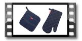 Kuchyňská rukavice a chňapka PRESTO DENIM, pro něj
