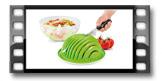 Salat-Set VITAMINO ø 20 cm, 2.0 l
